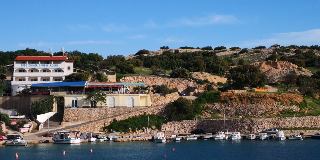 Our house and restaurant at the western coast of Krk